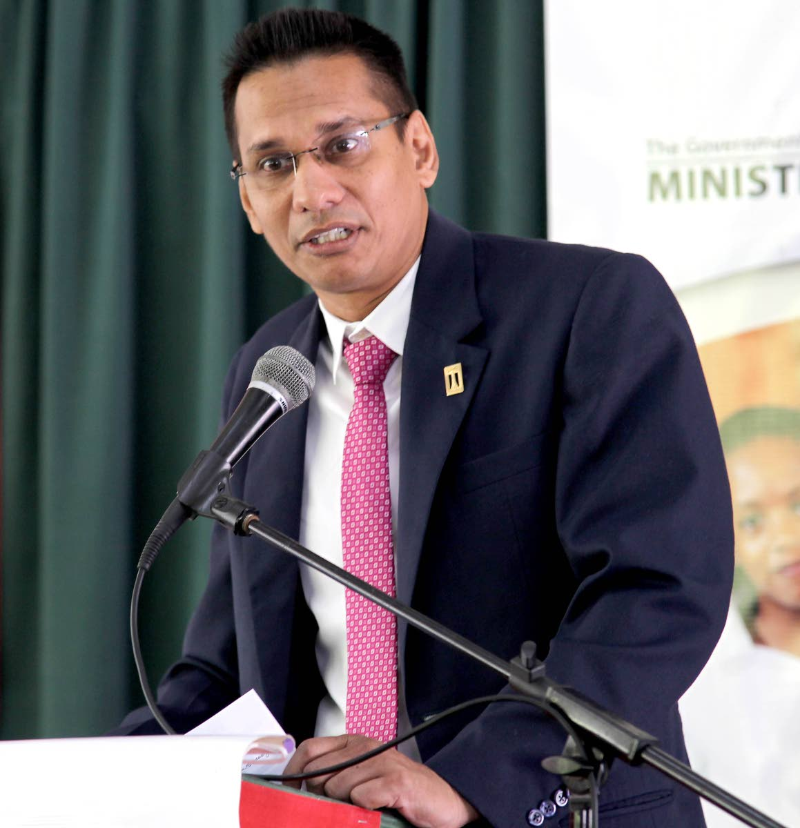 Lynsley Doodhai,  President of TUTTA