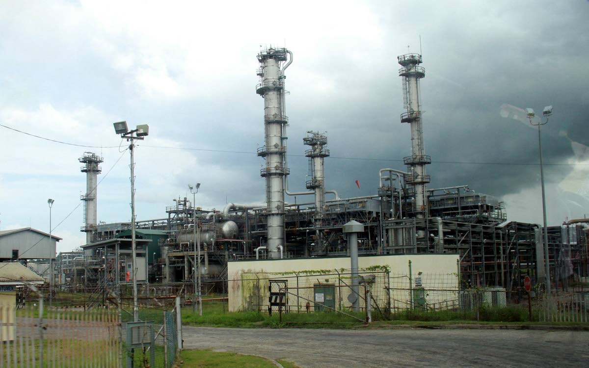 The Petrotrin refinery at Point-a-Pierre. PHOTO BY ANIL RAMPERSAD.