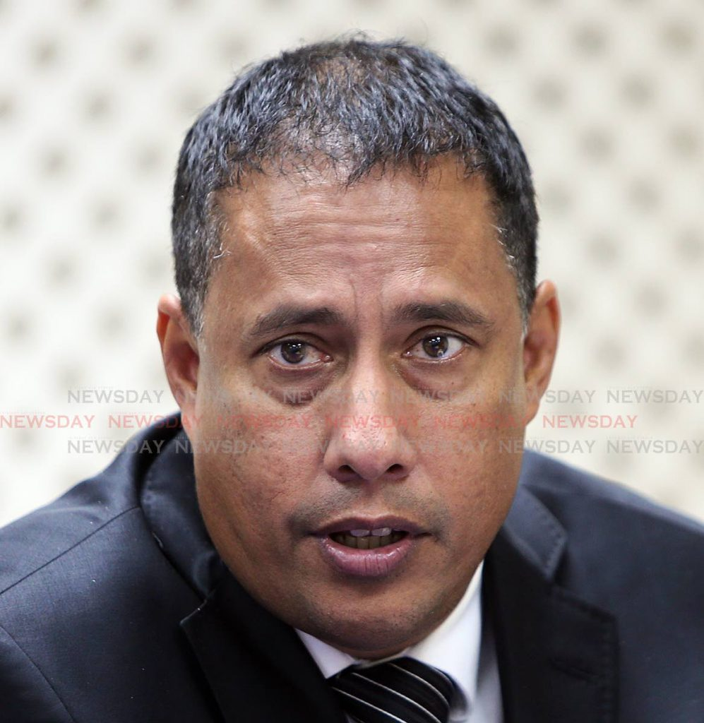 Commissioner of Police Gary Griffith PHOTO BY AZLAN MOHAMMED