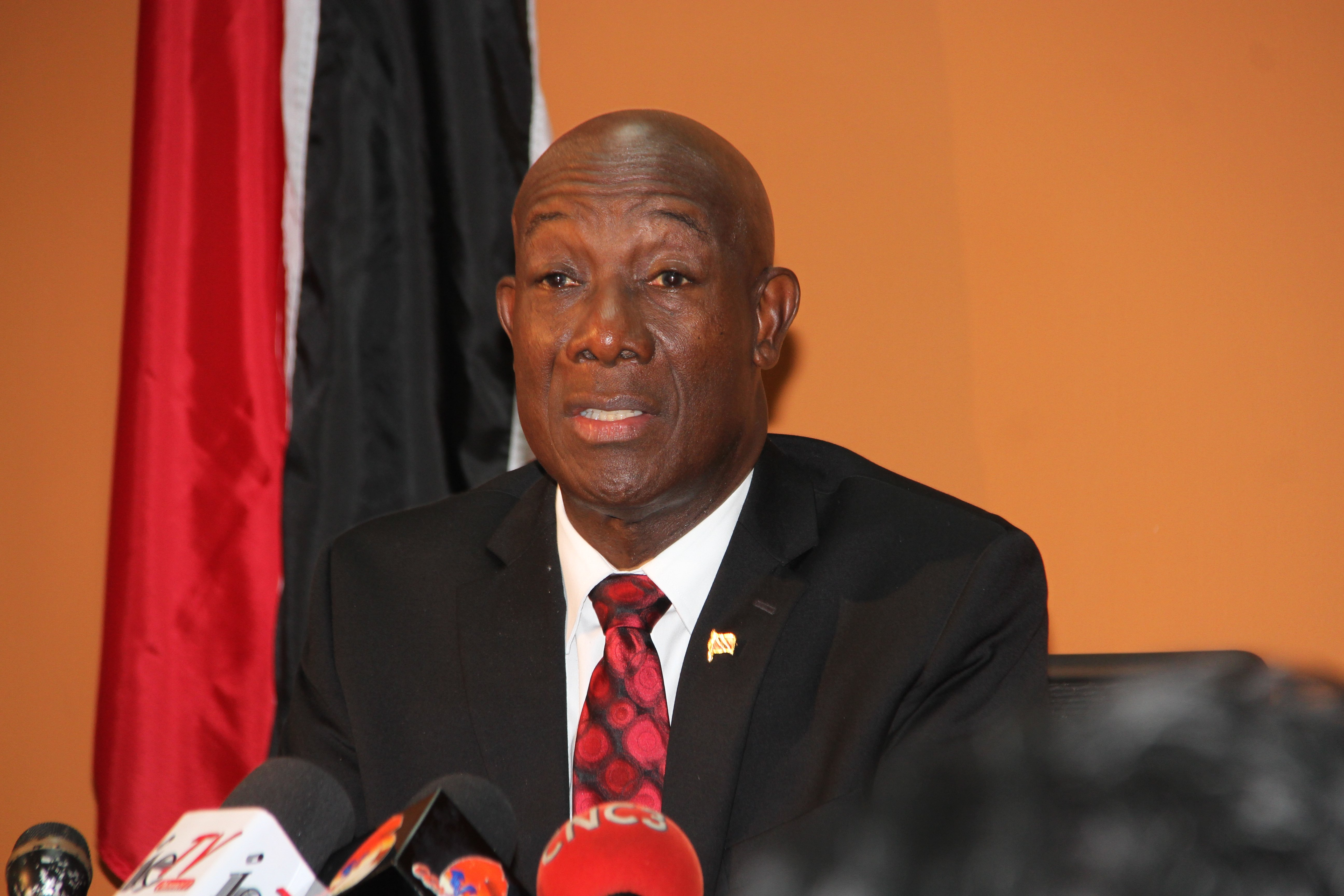 PM Dr Keith Rowley  Photo: Sureash Cholai