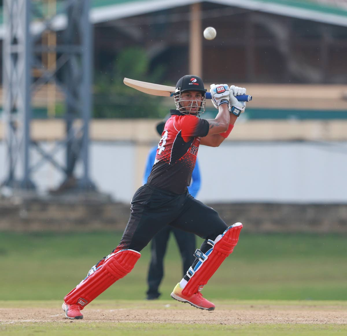 TT Red Force's Lendl Simmons made his third consecutive half century for the tournament.