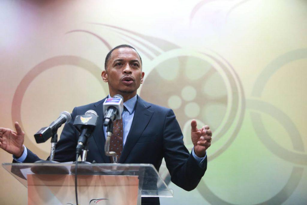 TT Commonwealth Games Association president Brain Lewis.