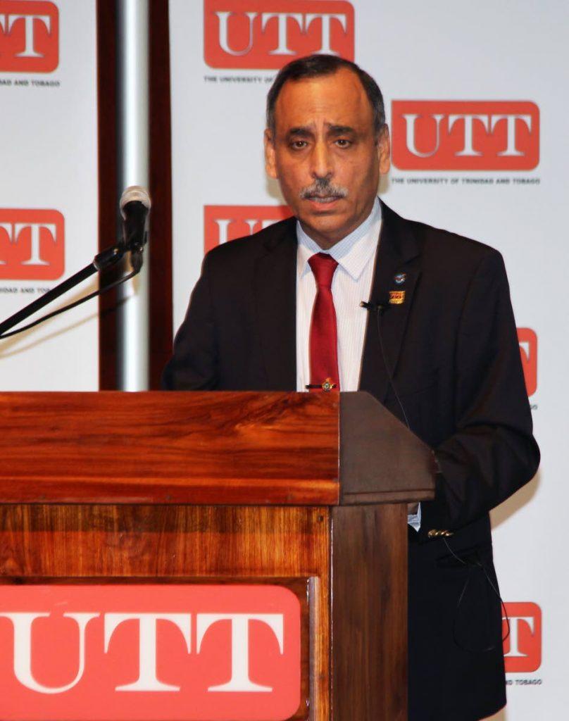 UTT'S president Sarim Al-Zubaidy