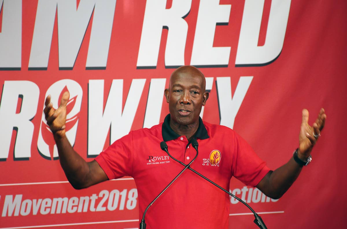 Prime Minister and PNM political leader Dr Keith Rowley will be in Tobago on November 18 for the PNM national convention.