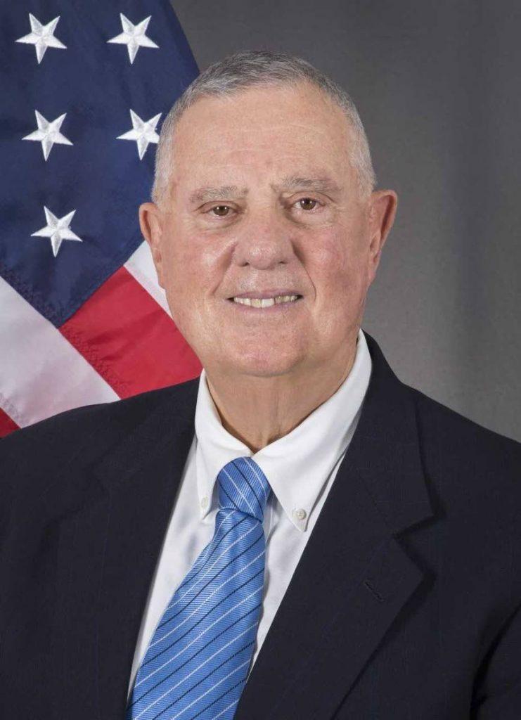 US Ambassador  Joseph Mondello.