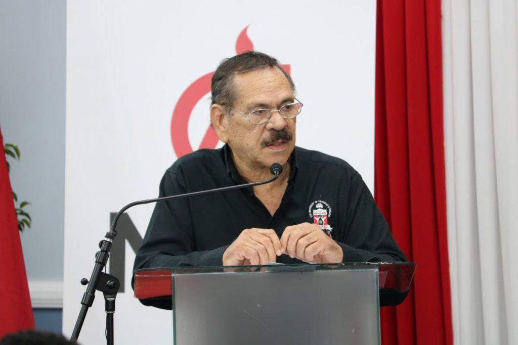 MIC chairman Professor Clement Imbert