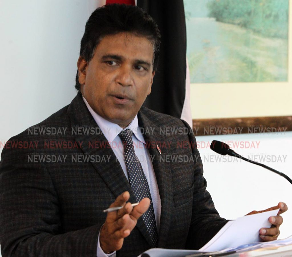 MP for Oropouche East  Roodal Moonilal.