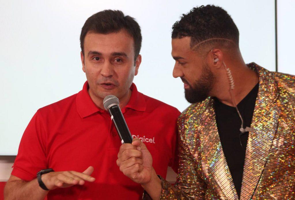 Digicel CEO Jabbor Kayumov