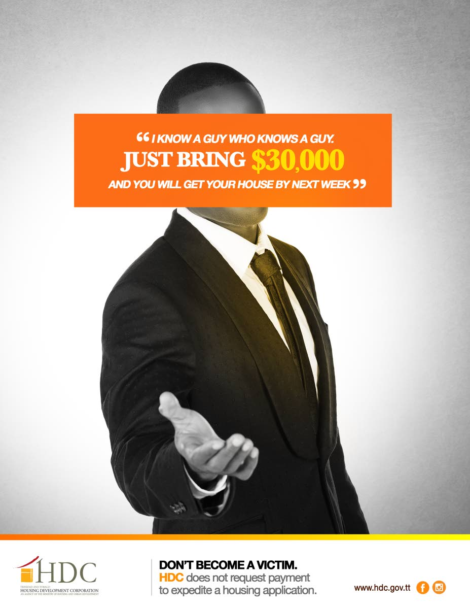 Image from HDC's anti-scamming campaign courtesy the HDC.