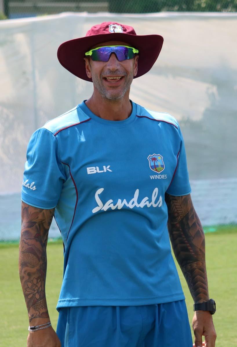 West Indies coach Nic Pothas