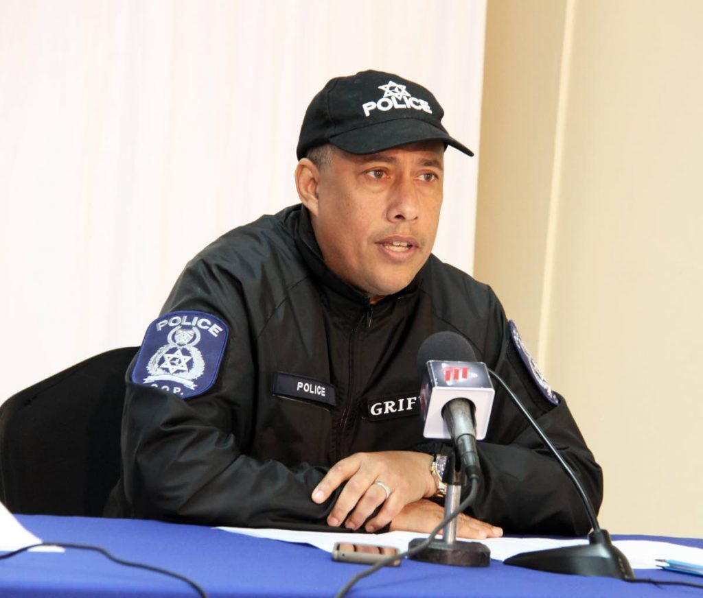 Commissioner of Police Gary Griffith.