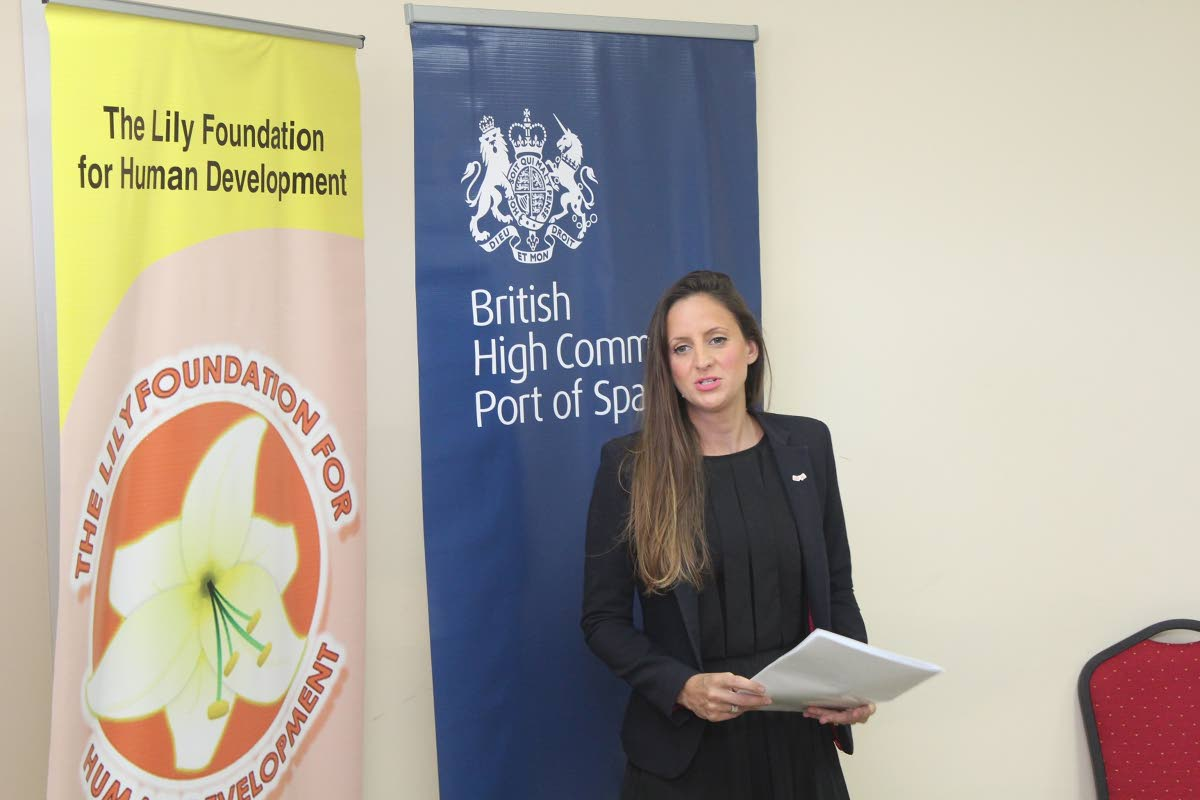 Beatrice Rose, Head, Political and Economic Team, British High Commission