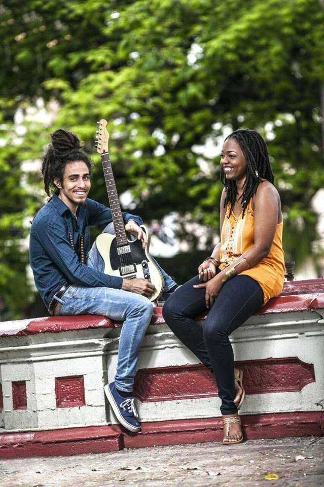 Jhonn and Pauls, featuring musicians Jhonn Young and Pauliana Padmore. Photo: Luis Young