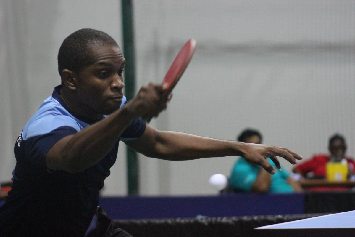Curtis Humphreys will be in action tomorrow in the Supersingles Table Tennis tournament men's finals.