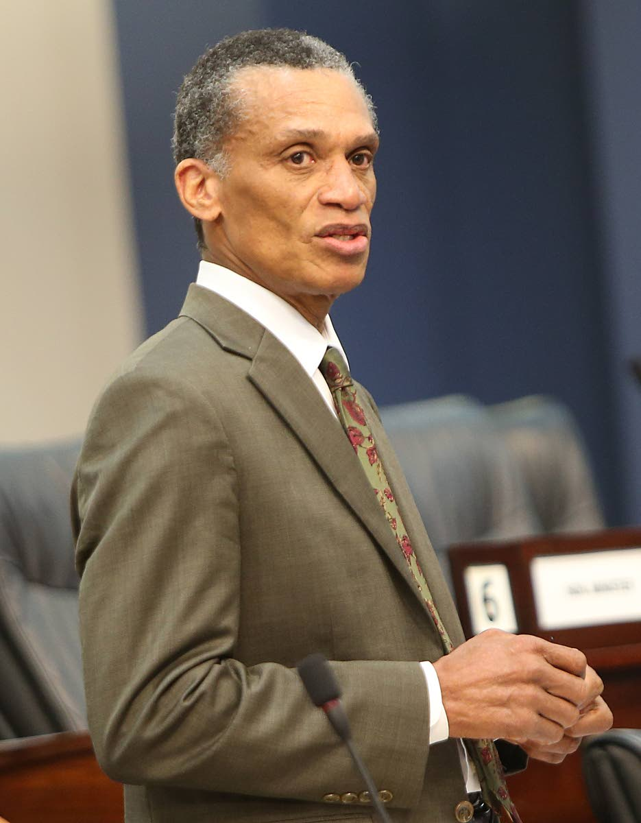 Foreign Affairs Minister Dennis Moses