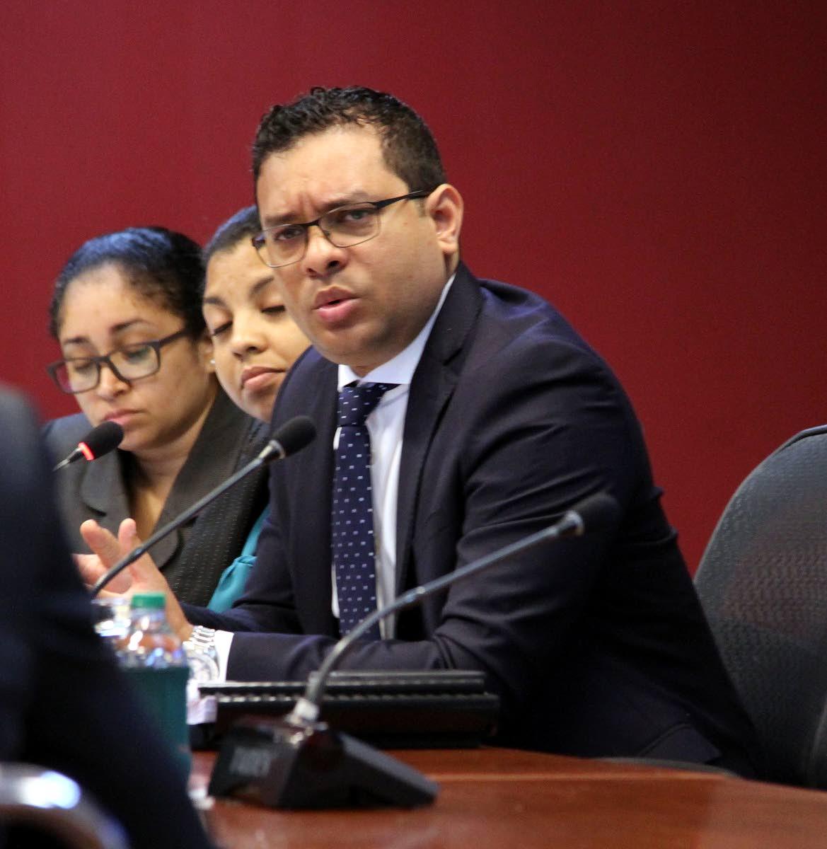 Tourism Minister Randall Mitchel