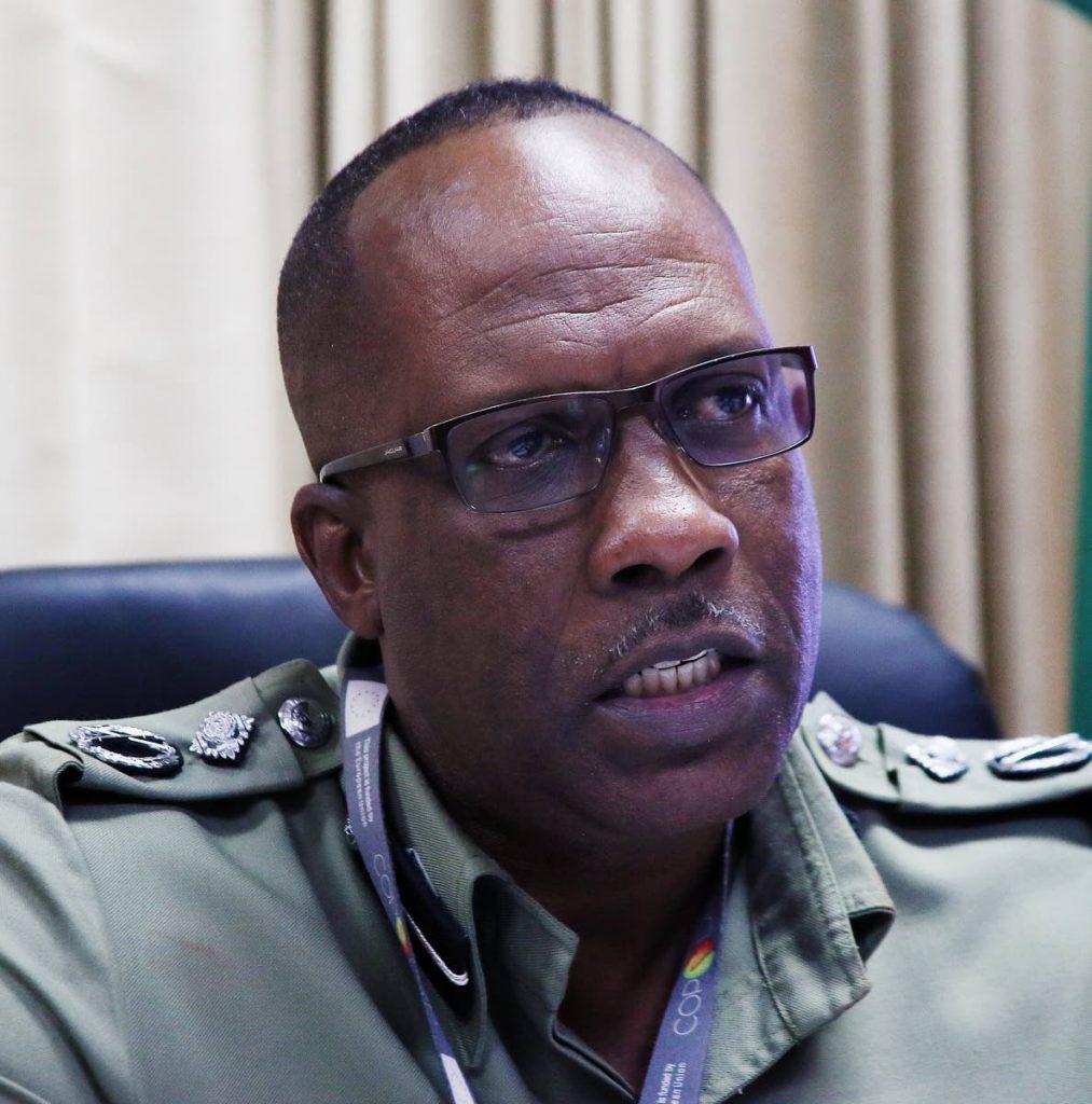 Prisons Commissioner Gerard Wilson