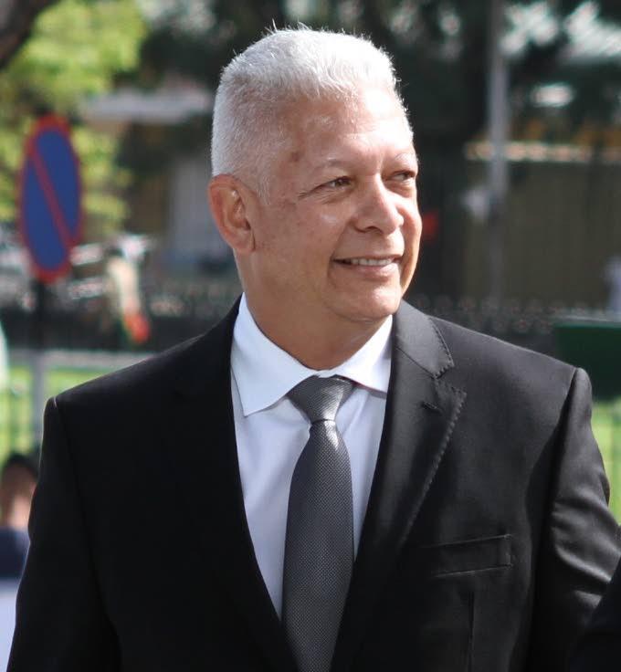 Port of Spain Mayor, Joel Martinez