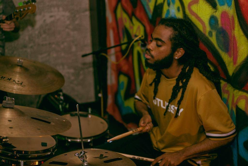 Adriel Shane Vincent-Brown says life as a musician  in New York is competitive.