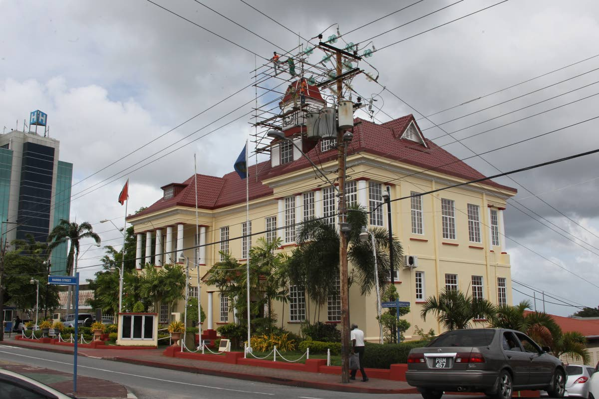 A file photo of City Hall, San Fernando. A project has been launched to install signage at sites in the southern city, including City Hall, declaring them heritage sites.