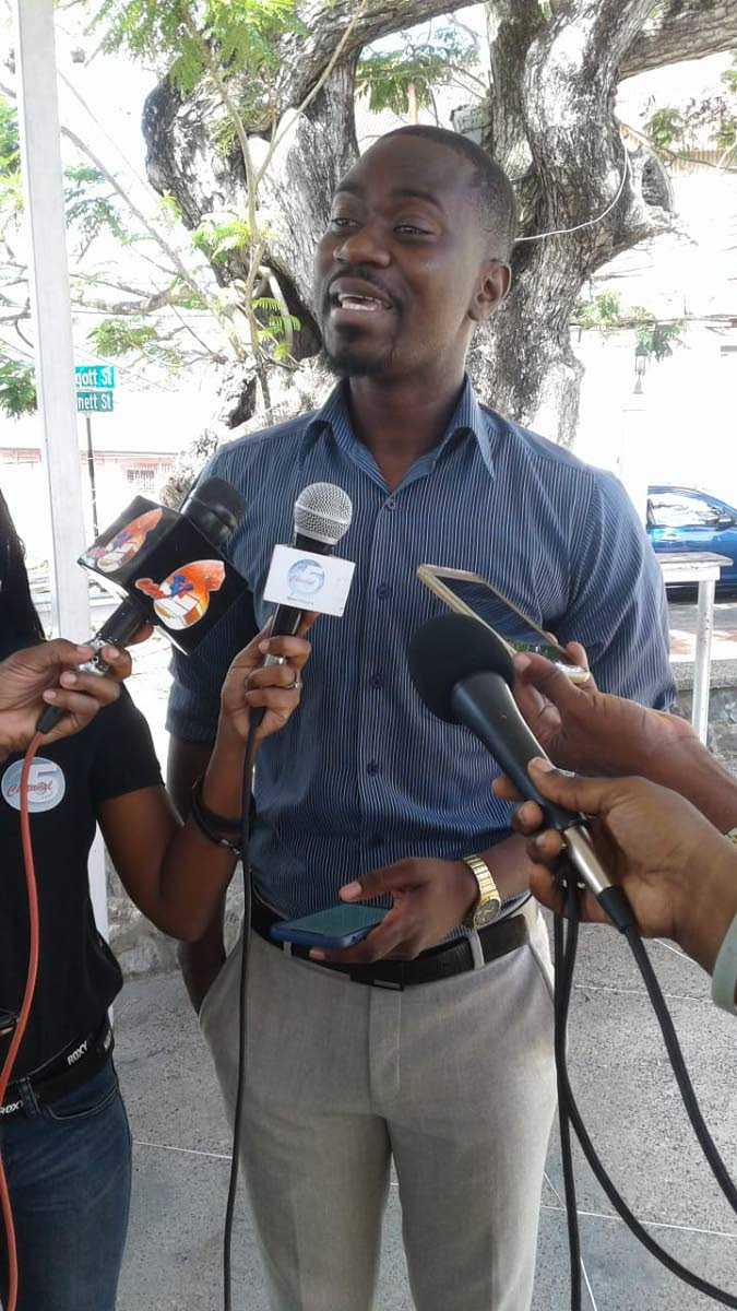 Minority Assemblyman Farley Augustine