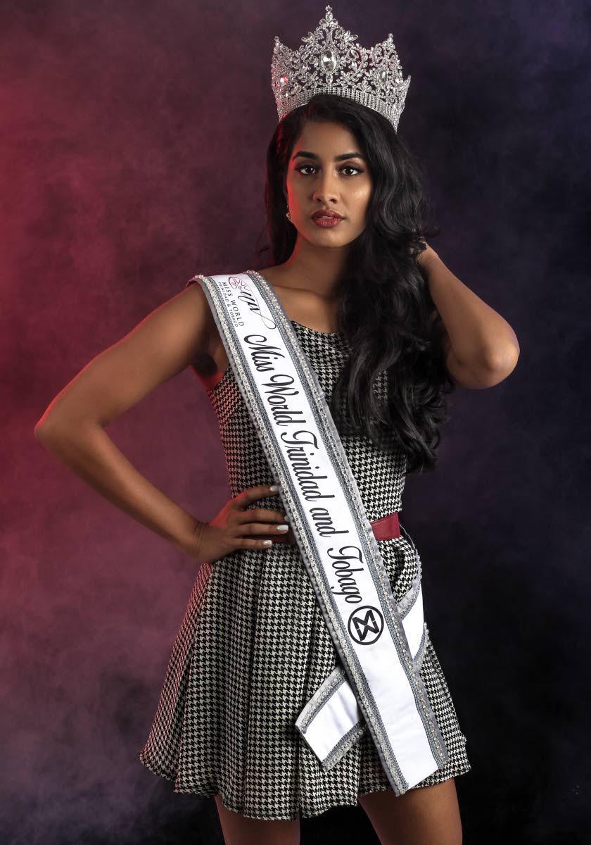 Miss TT Ysabel Bisnath is still a winner for Trinis although she did not place in the top 30 of the 2018 Miss World pageant. FILE PHOTO/JEFF MAYERS