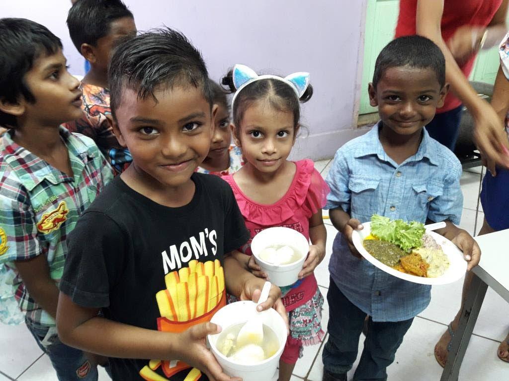 Camaraderie and joy among students celebrating Eat Local Day.