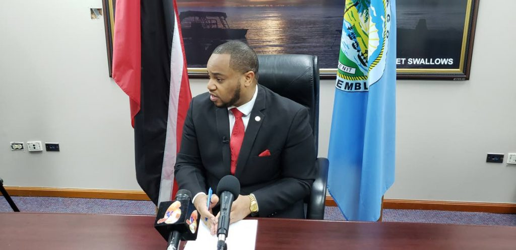 Kwesi Des Vignes, Public Relations Officer of the Tobago Council of the People National Movement (PNM)