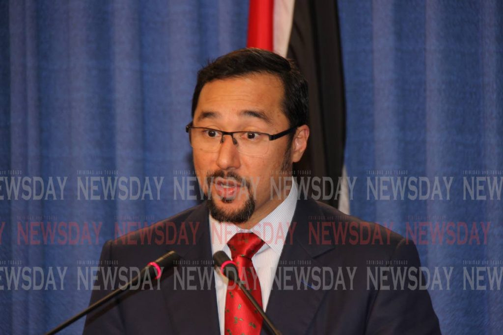 National Security Minister Stuart Young.