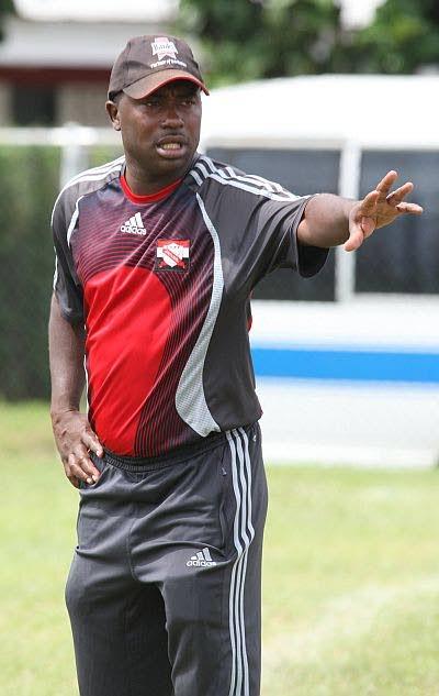 Club Sando coach Angus Eve