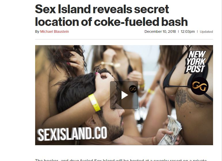 Screenshot from NY Post page.