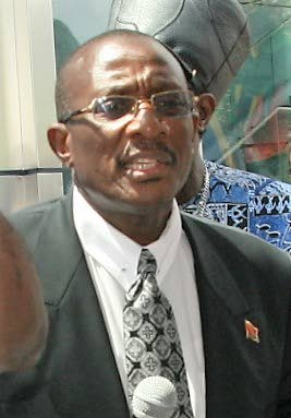 "NCC chairman Winston ""Gypsy"" Peters"