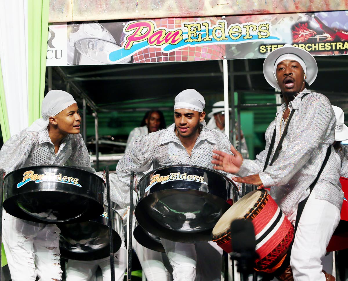 Pan Elders players in their winning performance at the 2018 Panorama medium band finals at Queen's Park Savannah, Port of Spain. The band is struggling to attract players this year because it is unsponsored and Pan Trinbago cannot affort to pay performance fees to pannists. FILE PHOTO