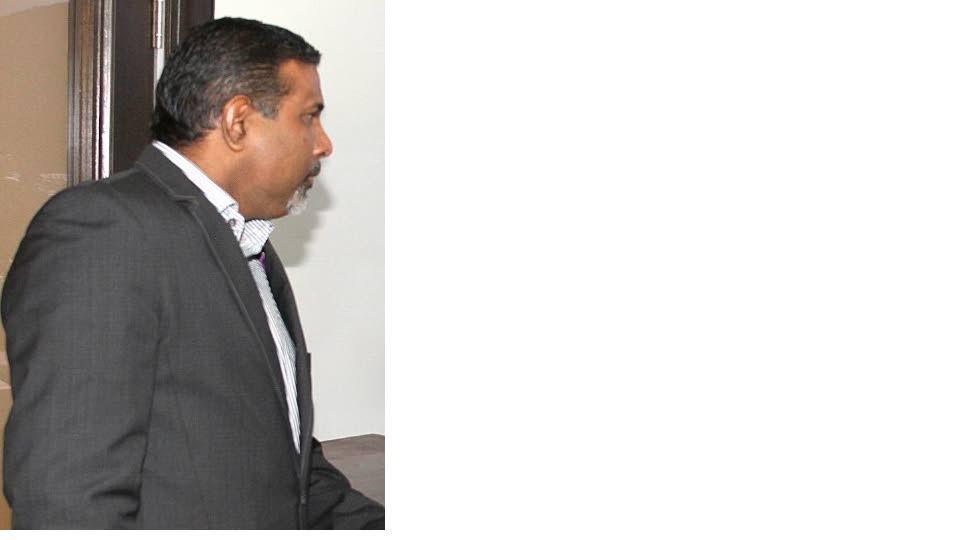 Former West Indies spinner  Dinanath Ramnarine