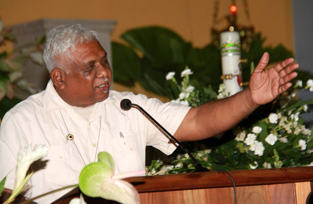 Reverend Kendrick Sooknarine who called for the church to be more relevant in fast changing world. He made the call at an Old Year's Day sermon on Monday at the Susamachar Presbyterian Church in San Fernando.