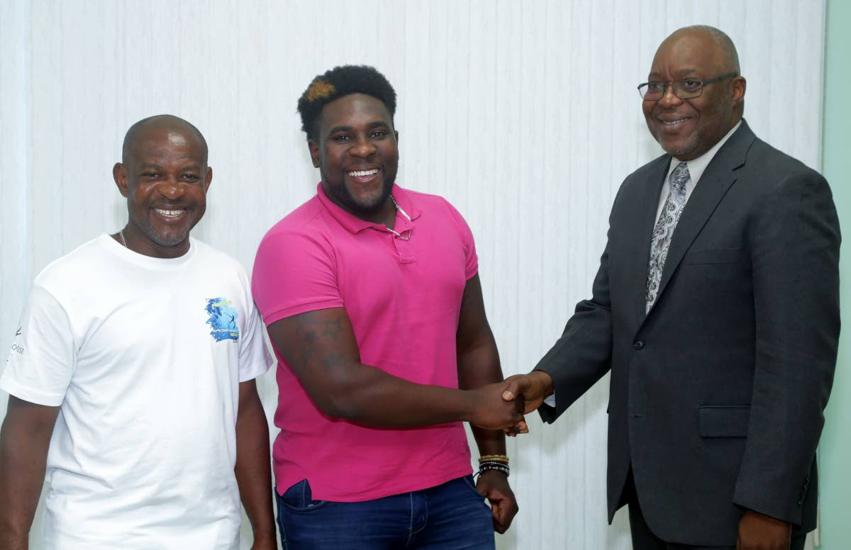 Club Crusoe's Iraq Thomas top-scored with 73 off 30 deliveries as his team defeated the UWI Cricket Club, during their UWI-Unicom T20 match,yesterday, at the Sir Frank Worrell Ground,St Augustine.