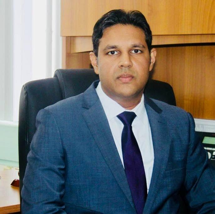 Chief Medical Officer Dr Roshan Parasram