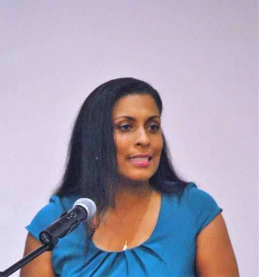 TT Chess Association president Sonja Johnson