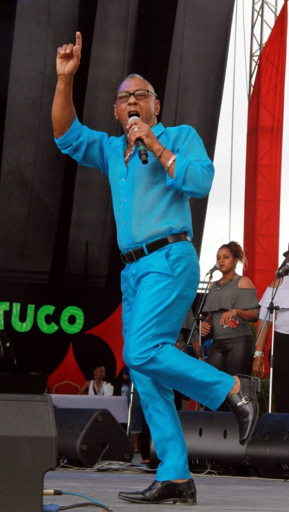 "Weston ""Cro Cro"" Rawlins, manager of Icons Calypso Tent, said he has not gotten any negative vibrations from the system that usually funds the calypso tents."