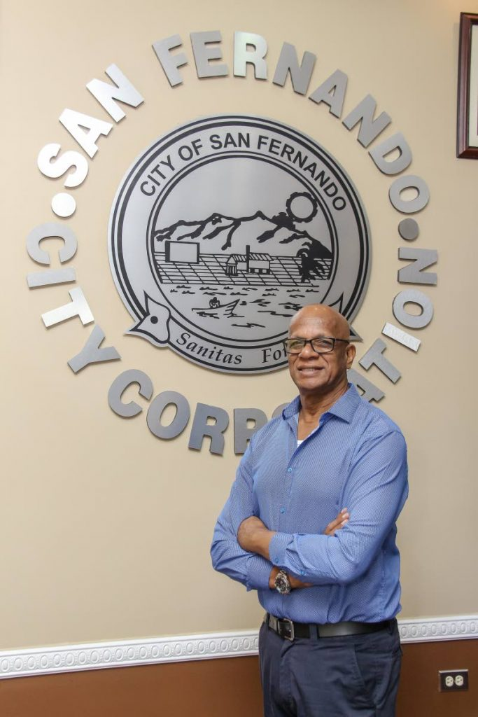 San Fernando Mayor Junia Regrello who has been a key player in the pan industry, especially in the south community.