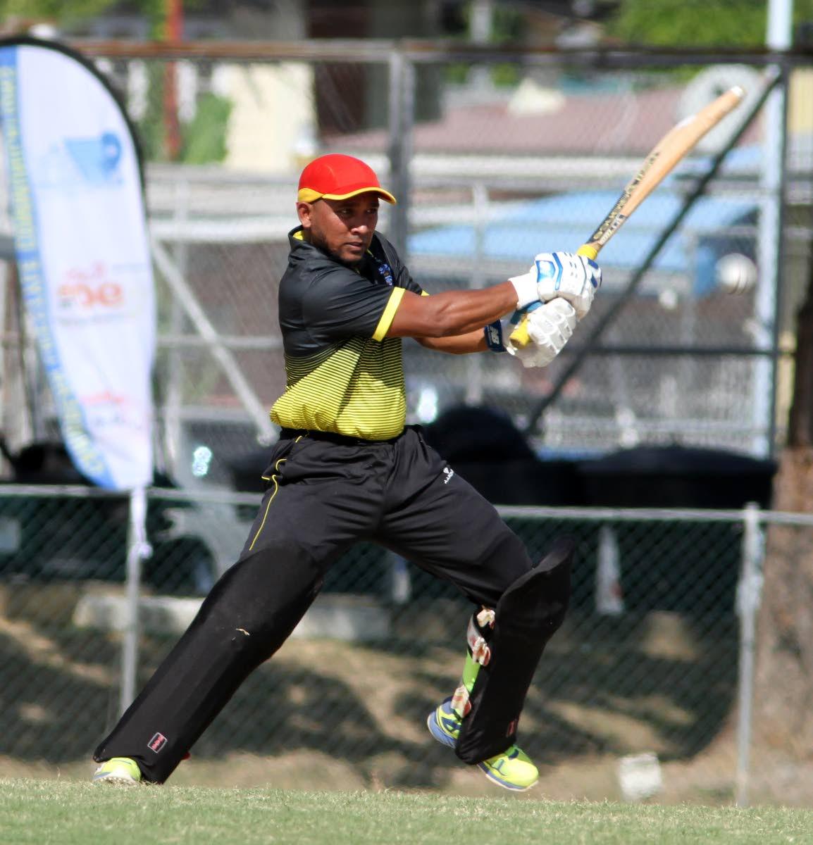 UWI's opening batsman Adrian Ali