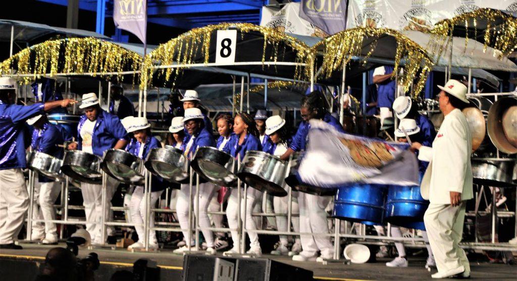 NLCB Buccooneers in the Medium Band finals last year.