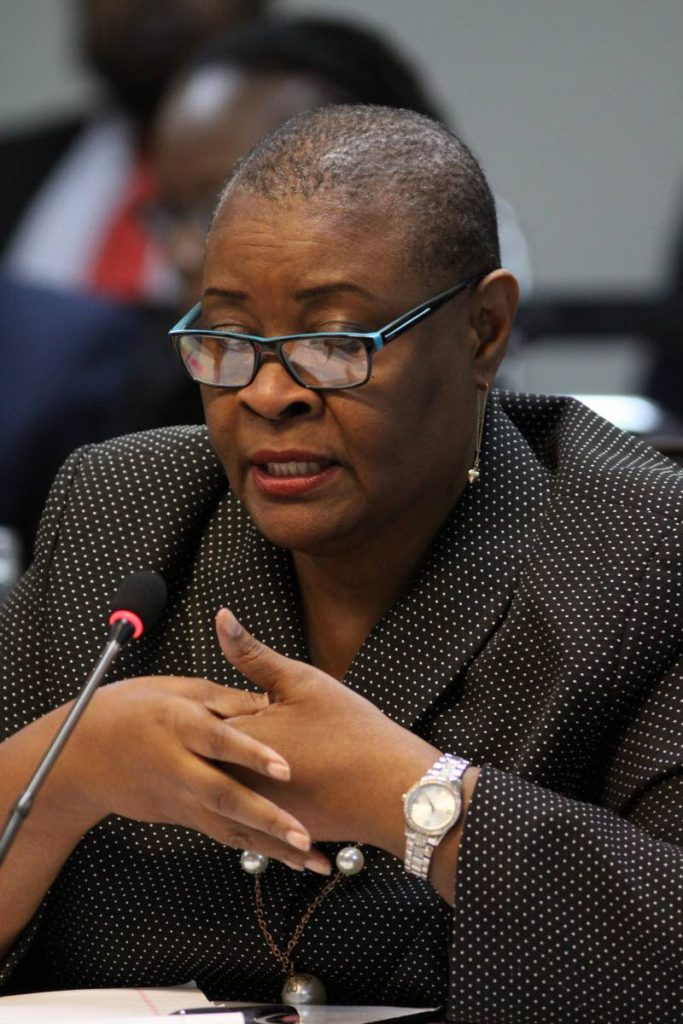 Permanent secretary in the Office of the Prime Minister, Jacqueline Johnson