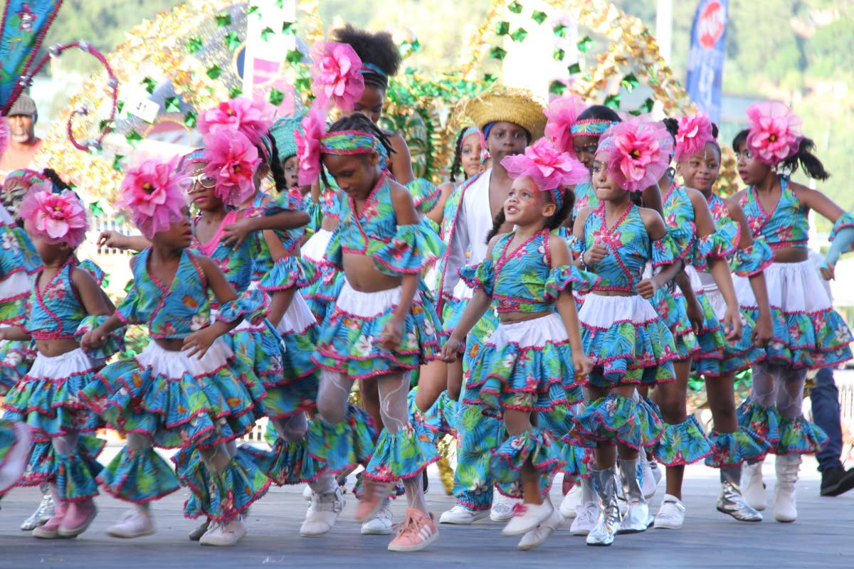 Maqueraders in last year's Junior Parade of the Bands. FILE PHOTO