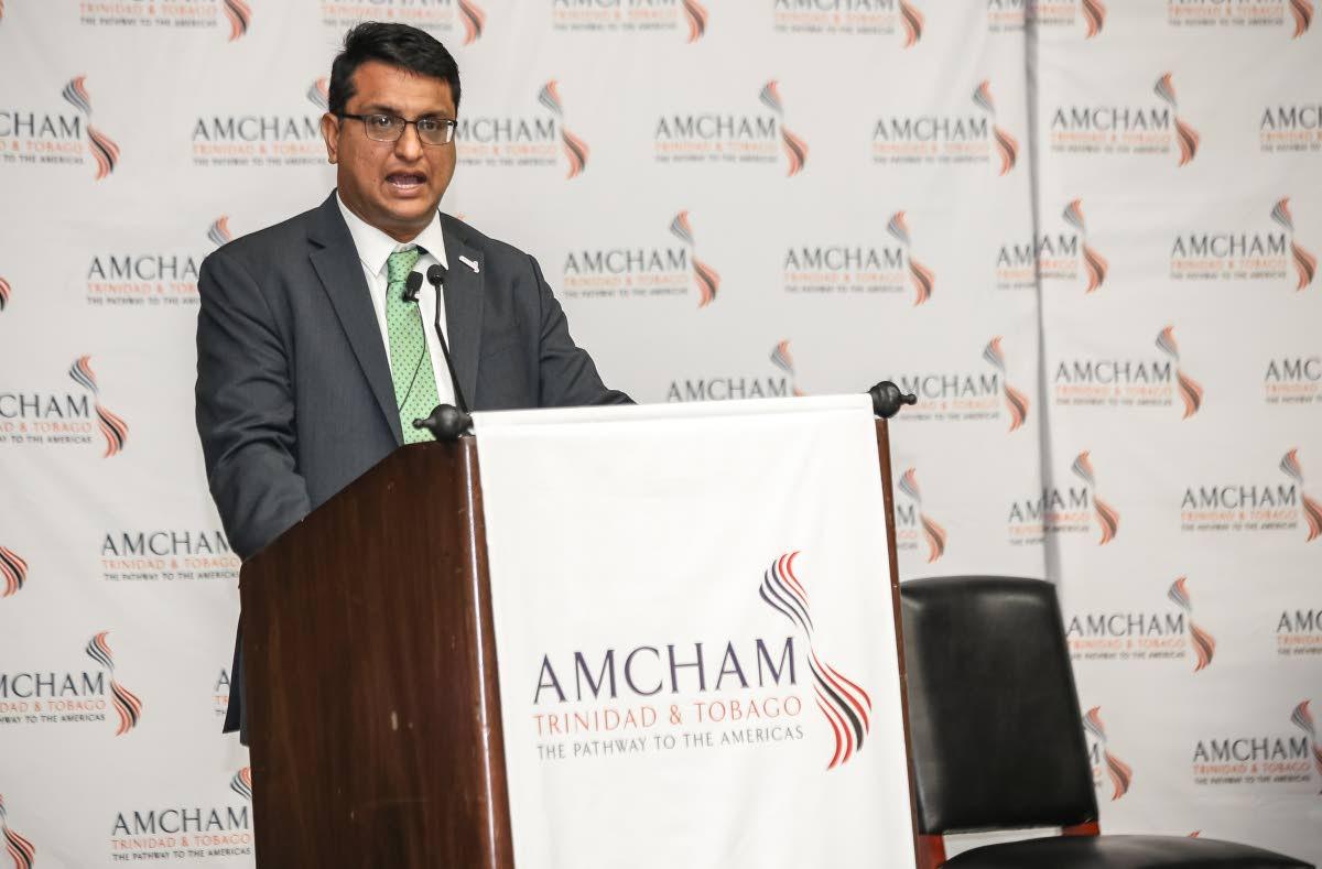 AmCham CEO Nirad Tewarie