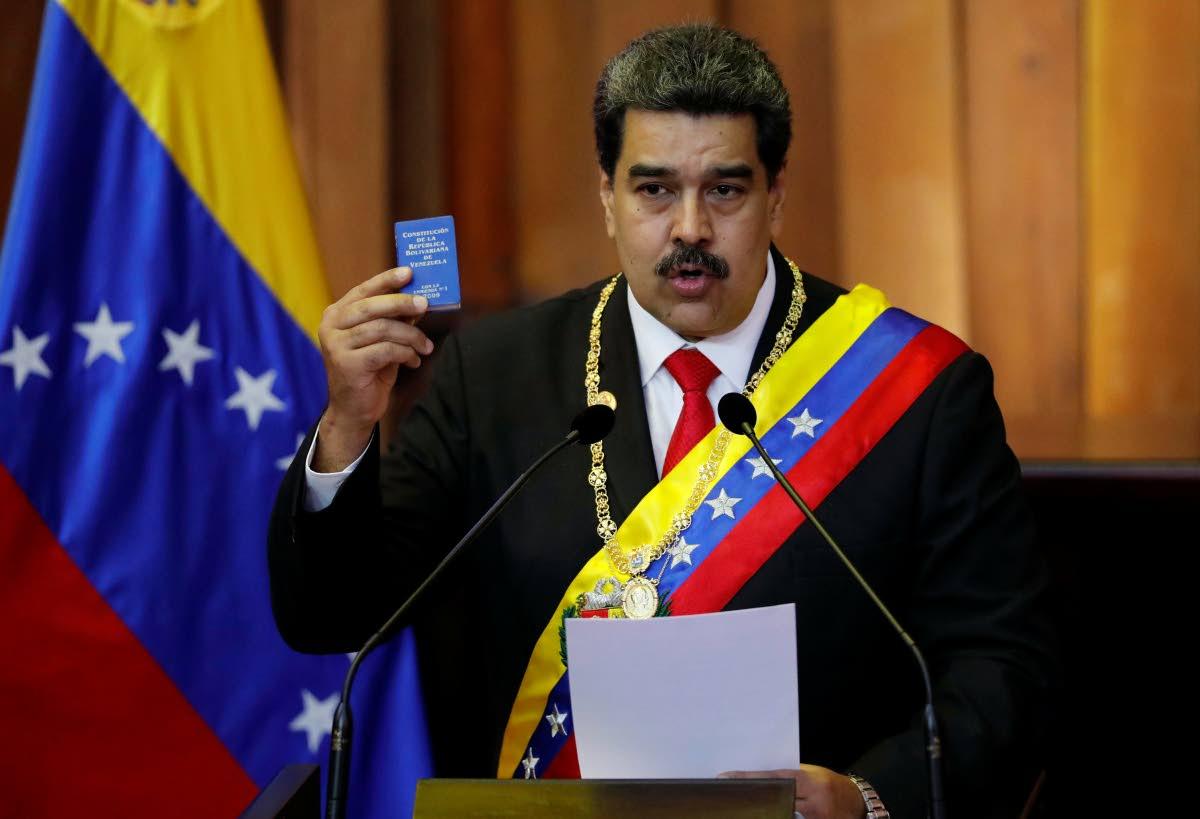 Embattled Venezuela President Nicolas Maduro.