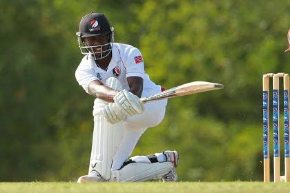Red Force batsman Jason Mohammed
