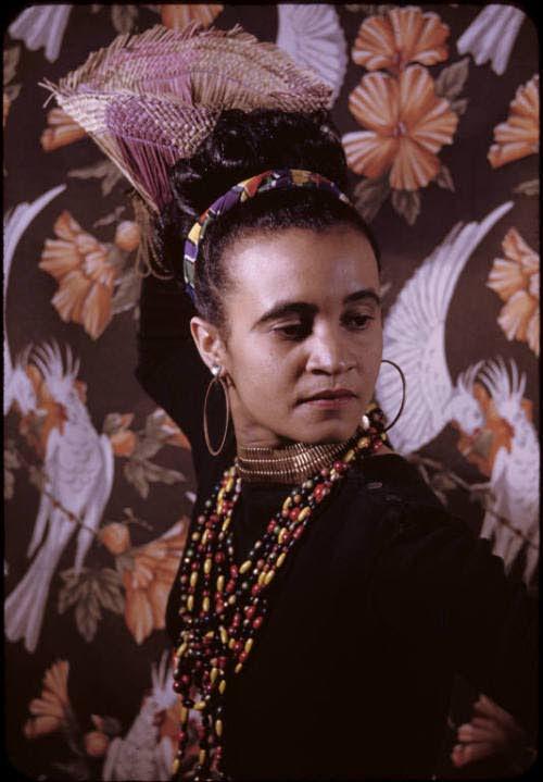 US photographer Carl Van Vechten's iconic photo of Beryl McBurnie. Photo courtesy the Carl Van Vechten estate.