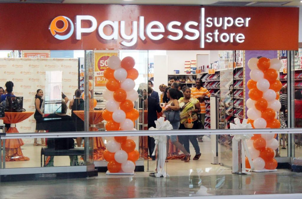 The Payless Super Store in Trincity Mall, Trincity. FILE PHOTO