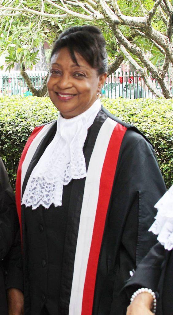 Justice Charmaine Pemberton